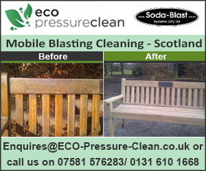 ECO Soda Blast Cleaning Scotland