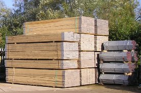 Scaffolding Tube and Boards in Stock. Gallery Image