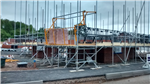 Loading-Bay Gates for Scaffolding on House Building Sites. Gallery Thumbnail