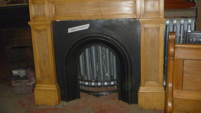 We have a large stock of antique fire inserts and original fire surrounds.   Gallery Image