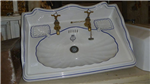 Decorative sink with nice detailing. Gallery Thumbnail