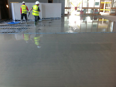 Swords Baptist Church, AKA The Riasc Centre_Screed Pour_Floor Screed Ireland_Kilsaran Gallery Image