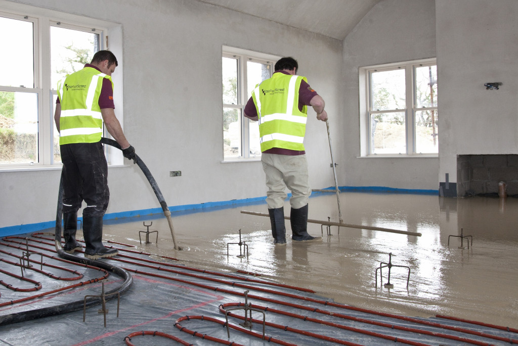 Wide range of floor screeds and floor screed binders available from SMET Gallery Image