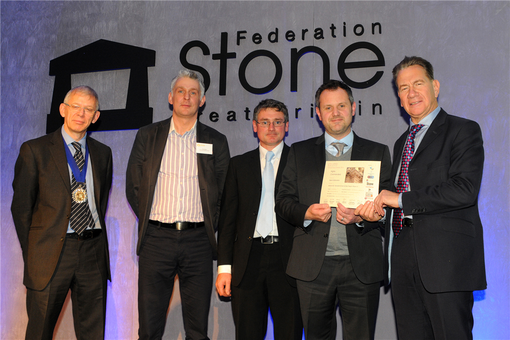 Natural Stone Awards 2016. We were highly commended for our stonework & external fabric repairs on the McEwan Hall Project. Also commended for the Lynn Building, Queens University Belfast. Gallery Image