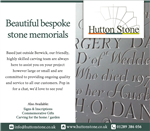 We do Beautiful Bespoke Stone Memorials.  Gallery Thumbnail