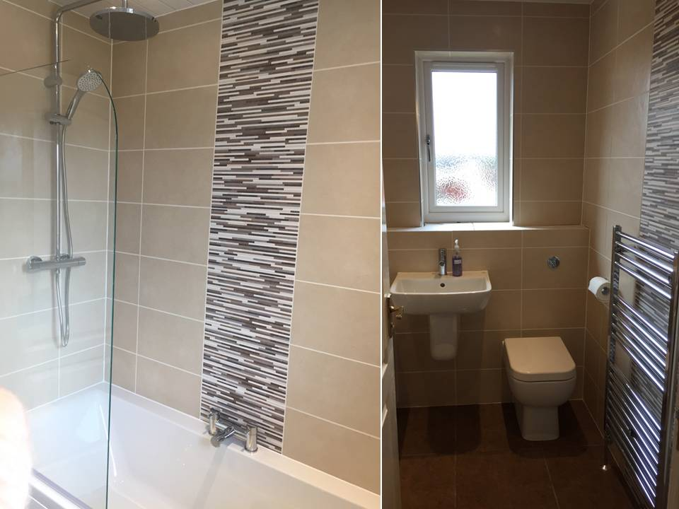 fitted bathroom in glasgow by DKB Gallery Image