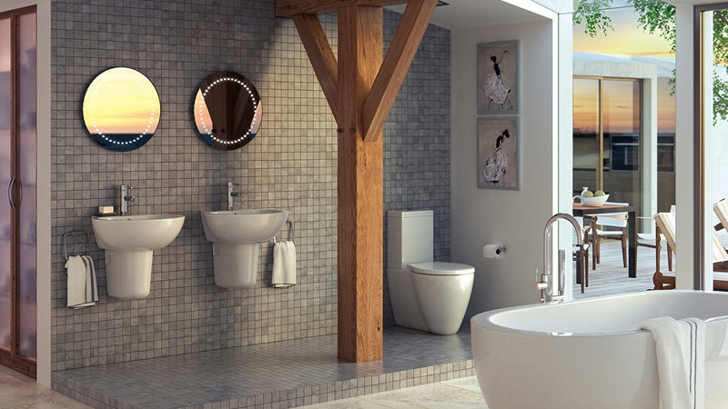 fully fitted bathrooms  Gallery Image