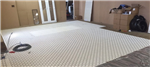 Overlay 12 mm mat system awaiting installation of 8 mm pipe. Gallery Thumbnail