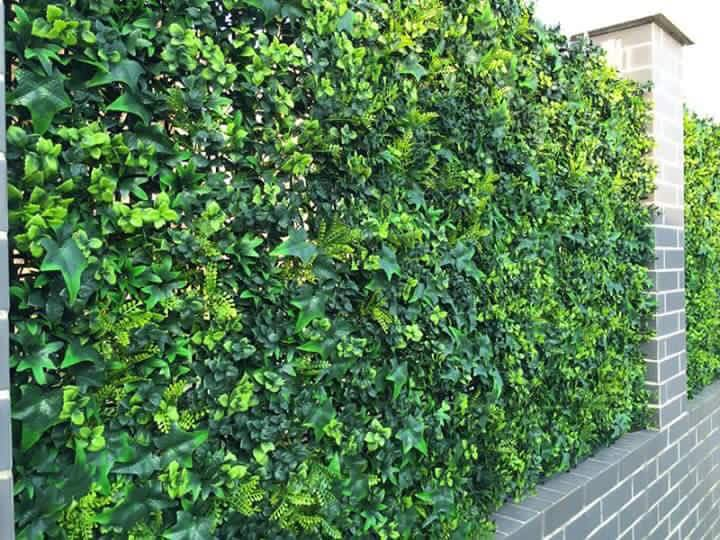 artificial Spring ivy bush for garden fence Gallery Image