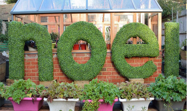 Bespoke artificial lettering services Gallery Image