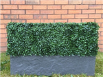 Bespoke artificial hedge planter, choice of planter and hedge panel Gallery Thumbnail