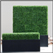 Bespoke artificial boxwood hedge planters, made to measure, any colours Gallery Thumbnail