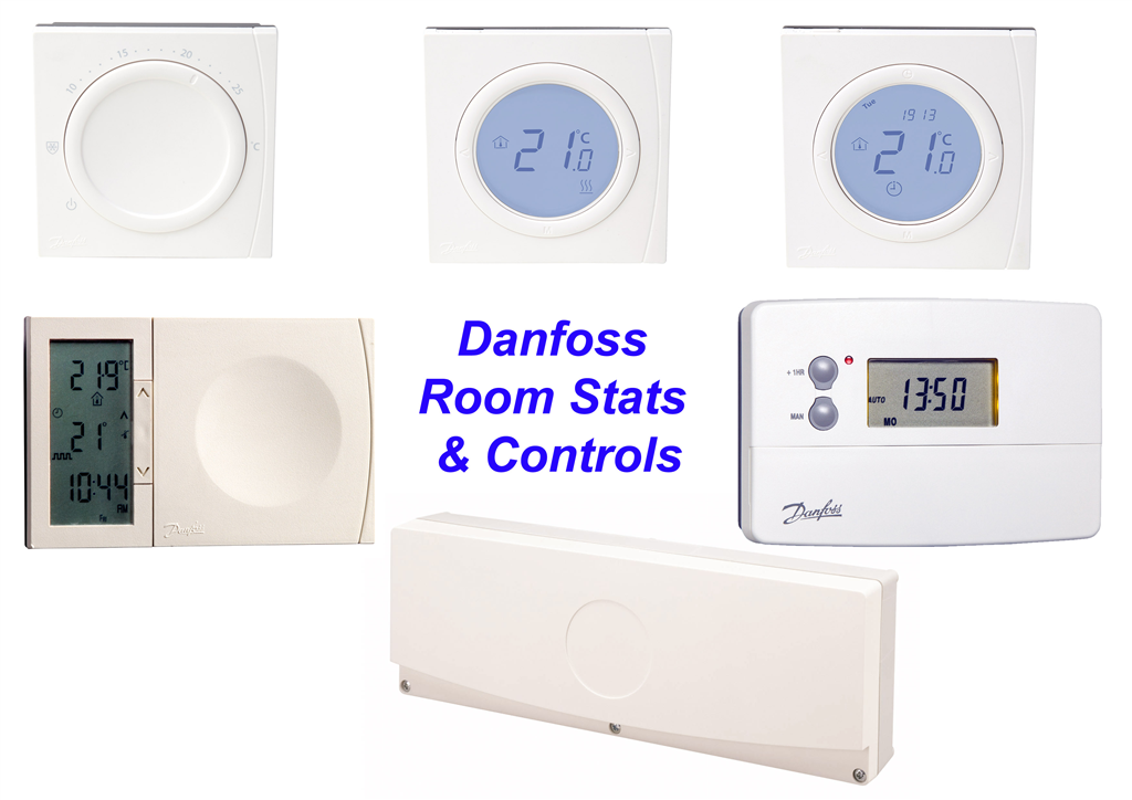 Optional Danfoss room stats & Controls Gallery Image