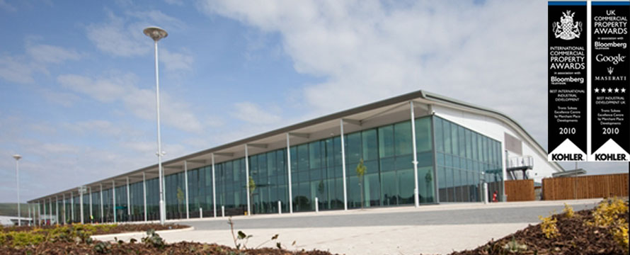 Tronic, Ulverston - £11m 105,000ft² hi-tech bespoke office and production facility, which won both the Best International Industrial Development and Best Industrial Development UK awards at the International Commercial Property Awards Gallery Image