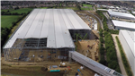 Next plc, Doncaster - £55m distribution warehouse, together with offices, call centre, link bridge extension to existing facilities, external works and drainage Gallery Thumbnail