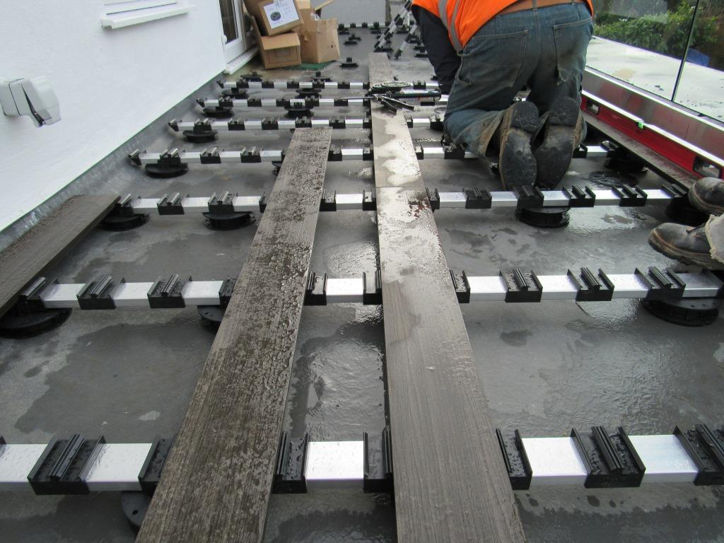 Installing EasyClick composite decking Gallery Image