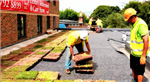 Installing M-Tray® modular green roof Gallery Thumbnail