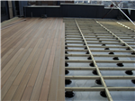 TD Supports with hardwood decking Gallery Thumbnail