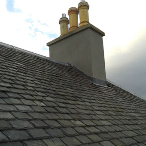 Chimney repaired by Lothian's Roofing in Dalkeith, Midlothian in Nov 2016 Gallery Image