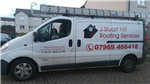 Image of Lothian's Roofing van just home from work. Gallery Thumbnail