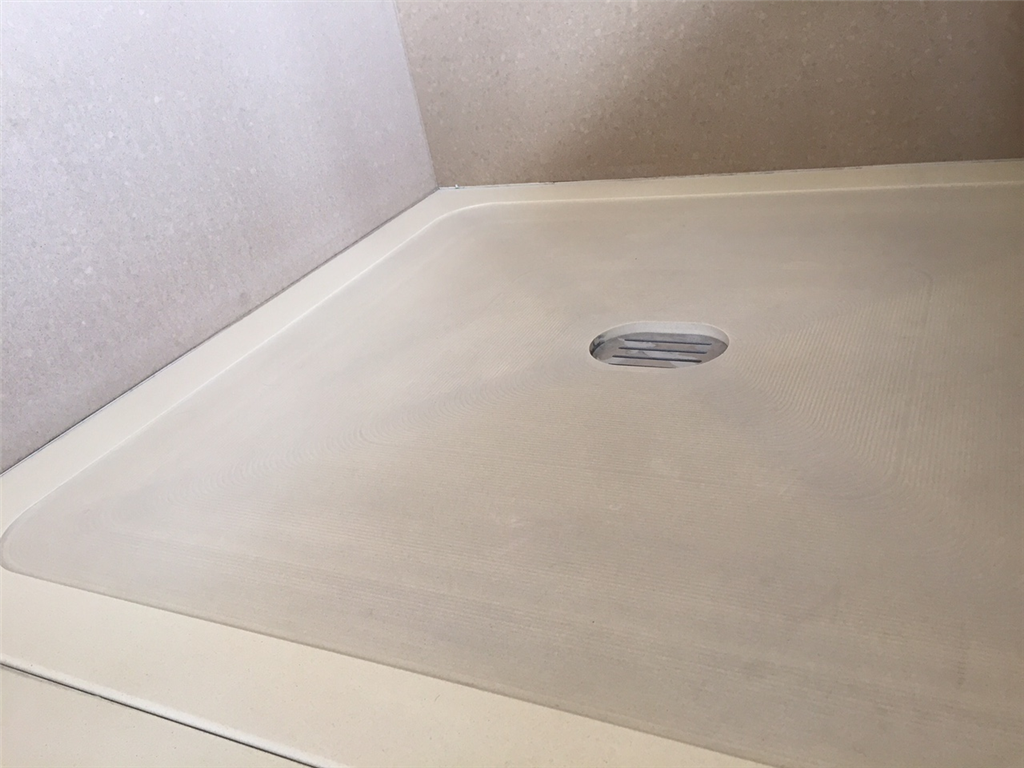 Bespoke stone shower tray Gallery Image
