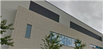 Laminate stone cladding on hospital Gallery Thumbnail