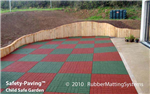 child safe outdoor - safety paving - rubber  safety surface Gallery Thumbnail