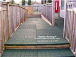 anti slip outdoor - safety paving - primary school - green Gallery Thumbnail