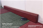 rubber kerb - rubber matting systems - with safety paving Gallery Thumbnail