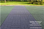 non slip patio - safety paving - grey and green Gallery Thumbnail