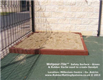 rubber kerb - rubber matting systems - used to build sand box Gallery Thumbnail