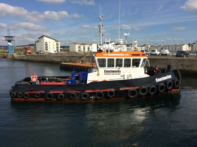 Coastworker tug.  Coastal towage services Gallery Image