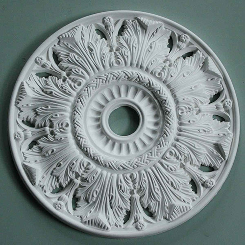 Victorian Decorated Plaster Ceiling Rose MPR063 Gallery Image