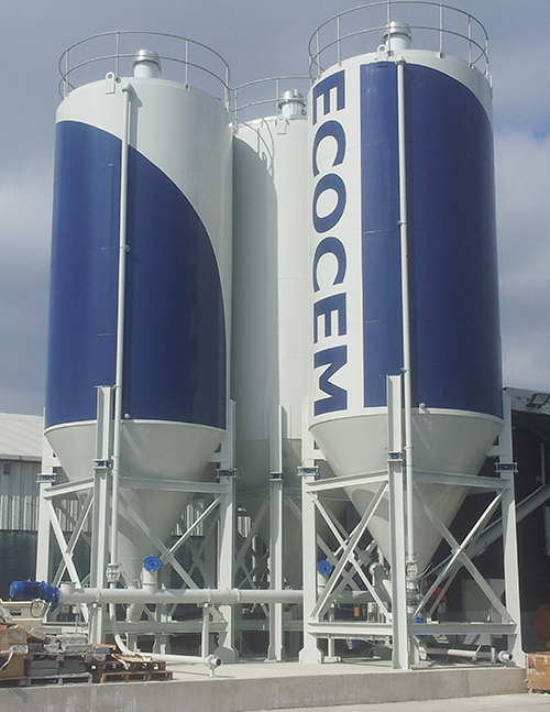 Previous project for 3 Silos based in Dublin Port, Co. Dublin.  Gallery Image