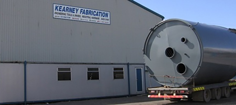 Kearney Material Handling Workshop based in Ballykilleen, Edenderry, Co. Offaly.  Gallery Image