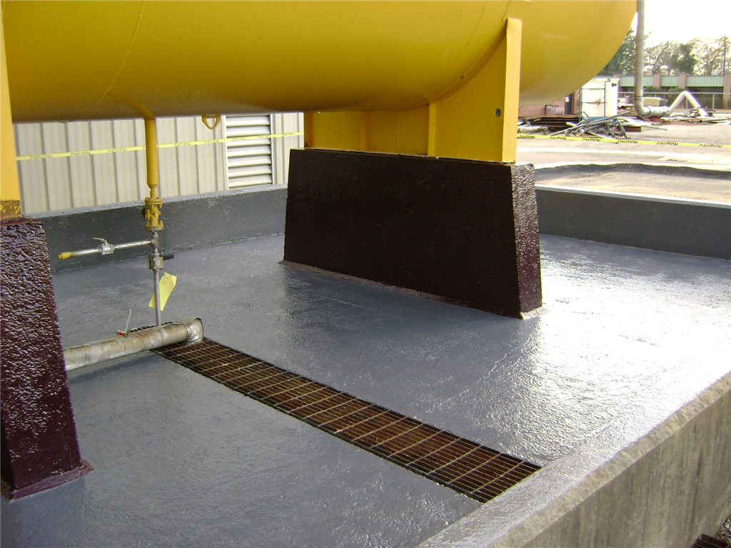 Chemical resistant coatings ensure protection of containment areas Gallery Image