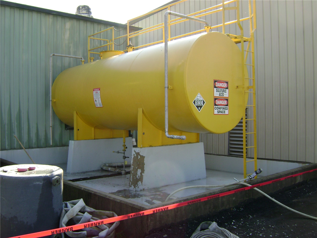 Chemical containment areas in need of protective coatings Gallery Image