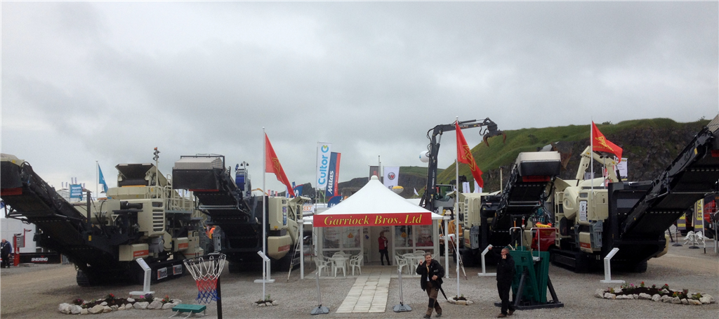 Metso mobile crushers on display- Hillhead show 2016 Gallery Image