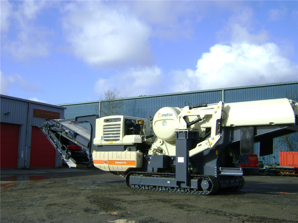 Metso LT120 Jaw Crusher Gallery Image