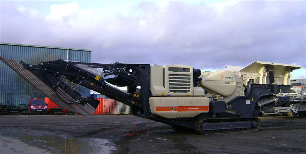 Metso LT106 Jaw Crusher Gallery Image