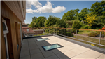 roof top terrace with walk on roof lights Gallery Thumbnail