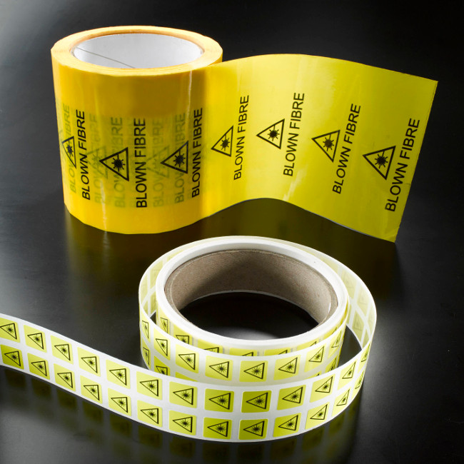 Blown Fibre Tape & Warning Stickers Gallery Image