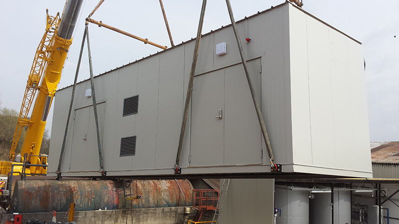 Biomass Packaged Modular Plantroom Gallery Image