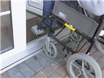 Aludrain low level threshold, ideal for disabled access. Gallery Thumbnail