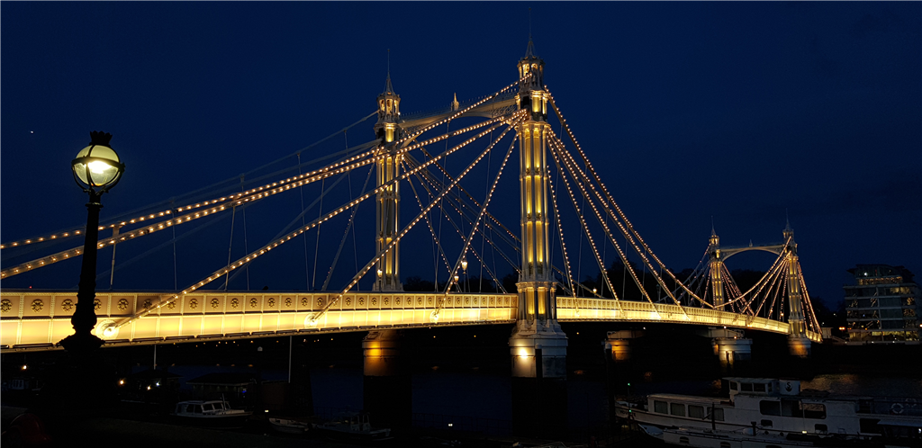 Albert Bridge, London. X24 System Gallery Image