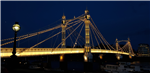 Albert Bridge, London. X24 System Gallery Thumbnail