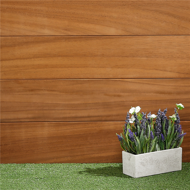SertiWOOD Cedar Ayous horizontal tongue and groove cladding Gallery Image