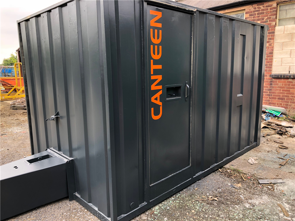 towable mobile welfare units for sale by Astley Containers & Cabins Gallery Image