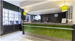 Bianco Antique granite reception desk, Holiday Inn Hotel, Oxford Street, London Gallery Thumbnail