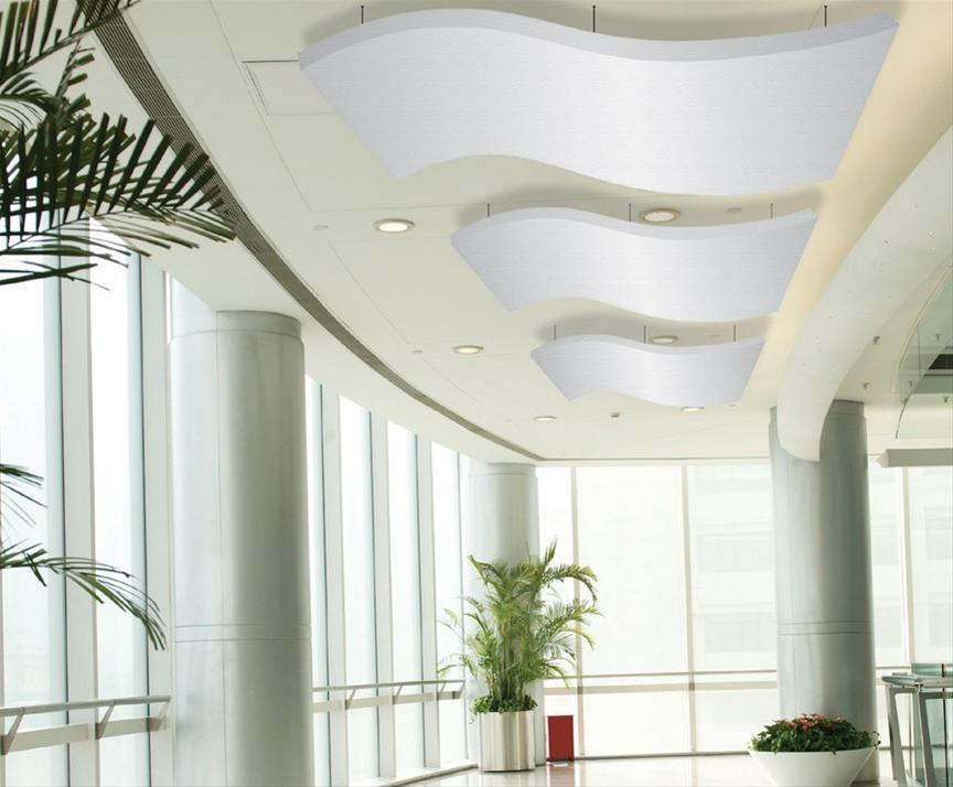 Moving Designs ~ sound absorbing ceiling panels Gallery Image